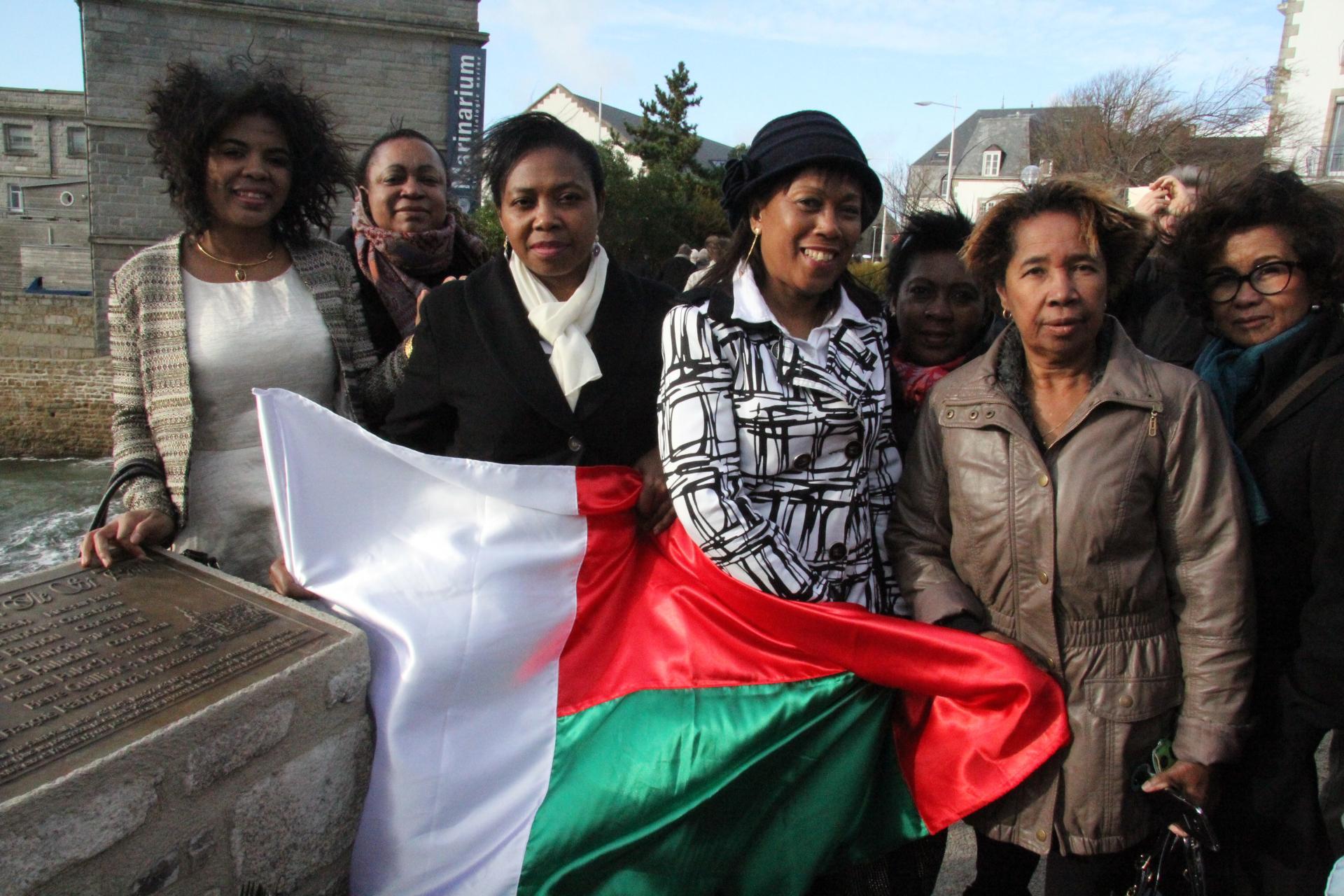 La communauté Malgache était à notre grande joie, présente. Photo Ouest-France