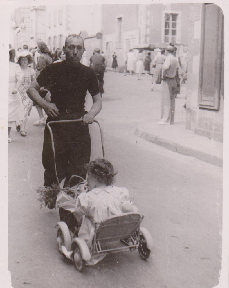 Julien avec sa fille Maryvonne