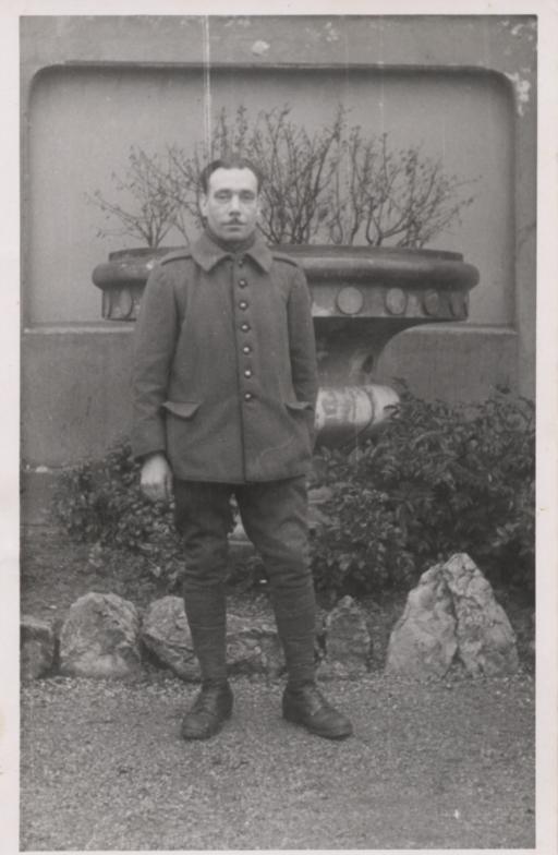Julien lors de la mobilisation générale en 1939